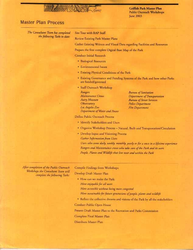2003 Master Plan Melendrez Partners Master Plan